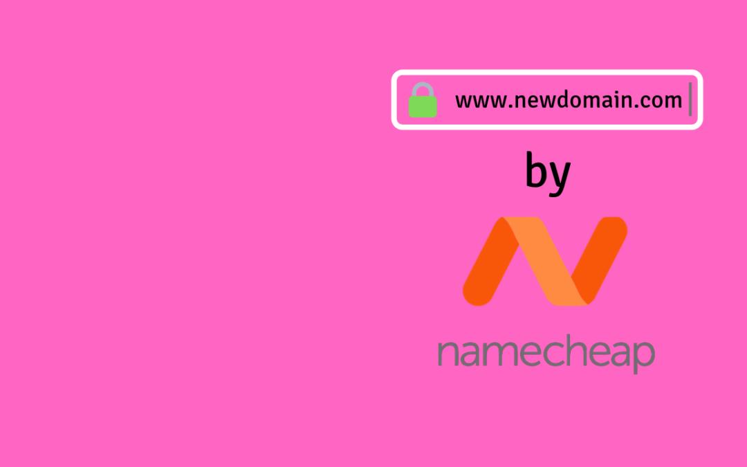 SAT 007: Register Domain Name with Namecheap