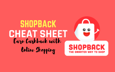 ShopBack Cheat Sheet: Earn Cashback with Online Shopping